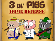 3 Lil Pigs Home Defense