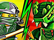 Ninjago Dragon Battle