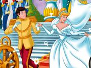 Princess Cinderella Hidden Alphabets