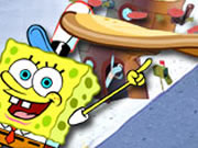 Sponge Bob Square Pants Pizza Toss