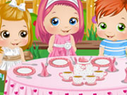 Baby Alice Tea Party