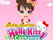 Baby Barbie Hello Kitty Costumes