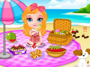 Baby Barbie Picnic Day