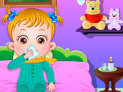 Baby Hazel Goes Sick