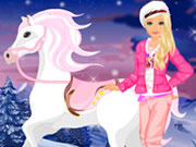 Barbie Winter Pony