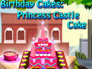 Birthday Cakes Princess Castle Cake