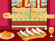 Cooking Frenzy Chicken Fajitas
