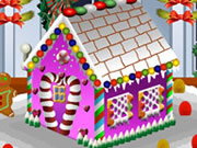 Decorate Gingerbread House