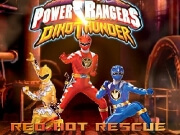Dino Thunder Red Hot Rescue