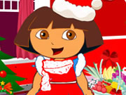 Dora Christmas Dress Up