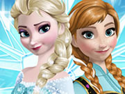 Frozen Sisters Dress Up