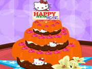 Hello Kitty New Year Cake Decor 2014