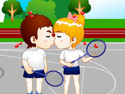 Kissing at the Playground