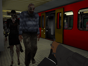 Metro Zombie Attack Subway 3D
