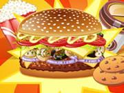 Mushroom Melt Burger