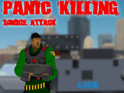 Panic Killing Zombie Attack