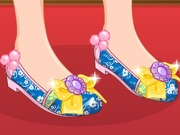 Princess Mulan Shoe Design