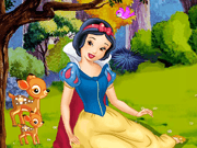 Princess Snow White Lazy
