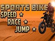 Sports Bike Speed Race Jump