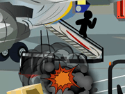 Stickman Death Airport