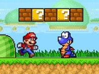 Super Mario Brothers Star Scramble 2