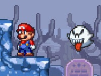 Super Mario Star Scramble Ghost Island