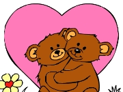 Valentine Day Coloring