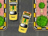 Yellow Cab Taxi parking